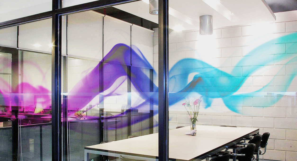 hd clear conference room window film