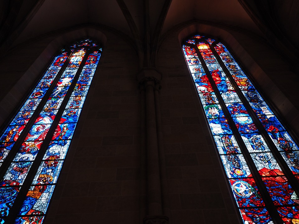 How C-Bond Window Film Protects Church Stained Glass Windows