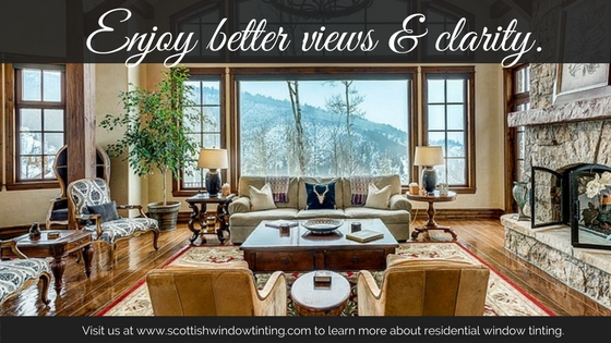 Take in the Views Without Absorbing Heat with Window Tint for Your Colorado Home