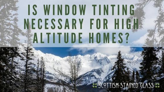 Window Tinting For High Elevation Salt Lake City Homes