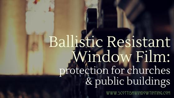 How Ballistic Resistant Bullet Proof Film Protects Salt
