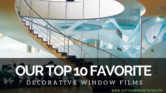 Our 10 Favorite Decorative Film Choices for Your Denver Home and Office