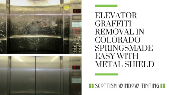 Elevator Graffiti Removal Made Easy With Metal Shield