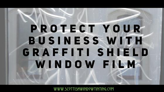 Protect Your Business from Vandalism with Graffiti Shield Window Film