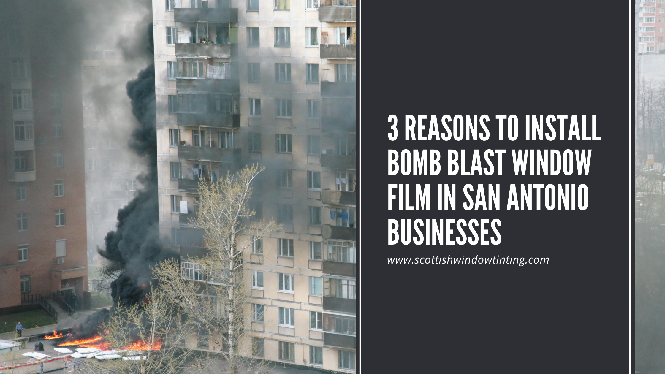 3 Reasons to Install Bomb Blast Window Film in San Antonio Businesses