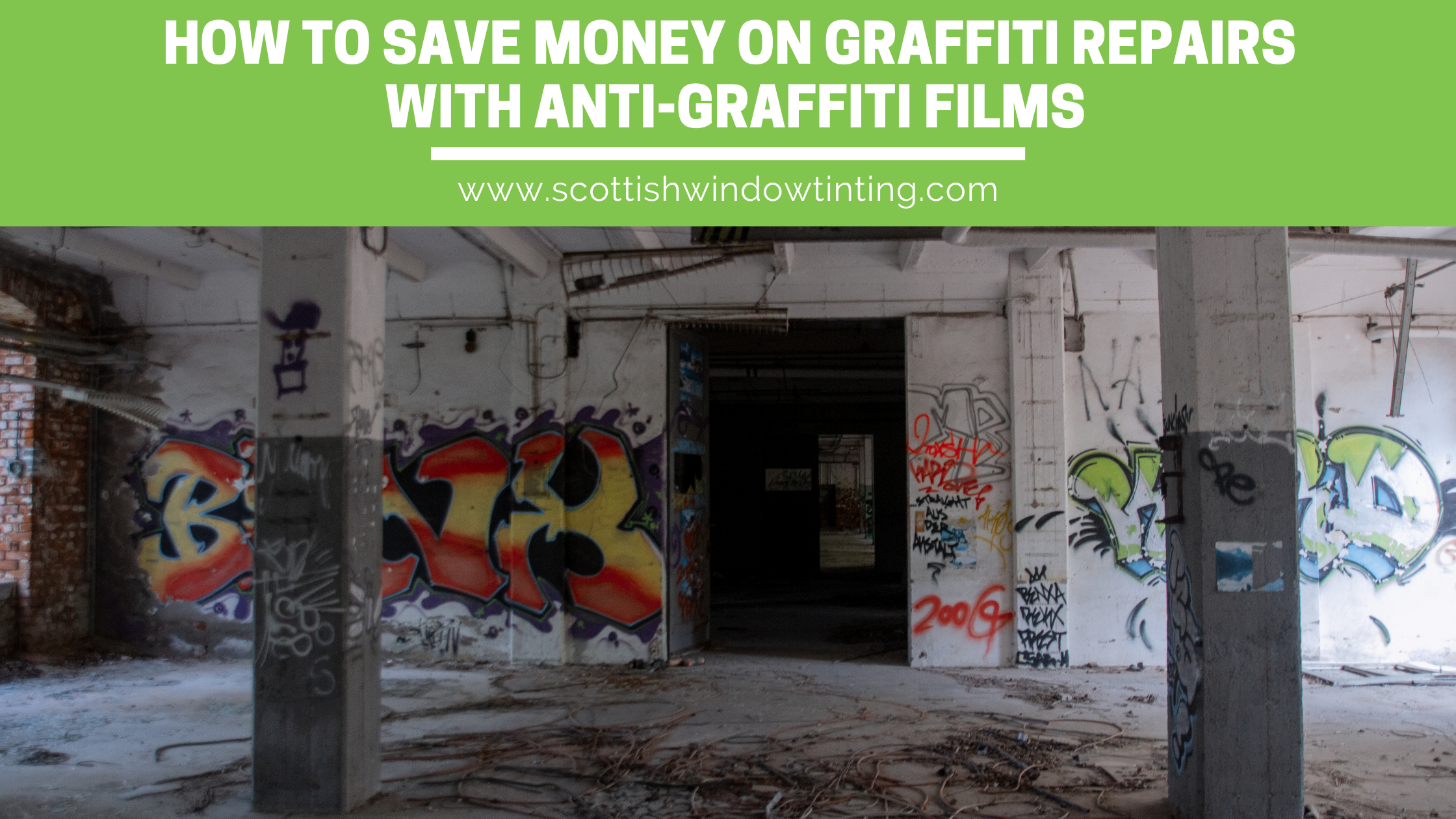 How Salt Lake City Businesses Can Save Money With Anti-Graffiti Film