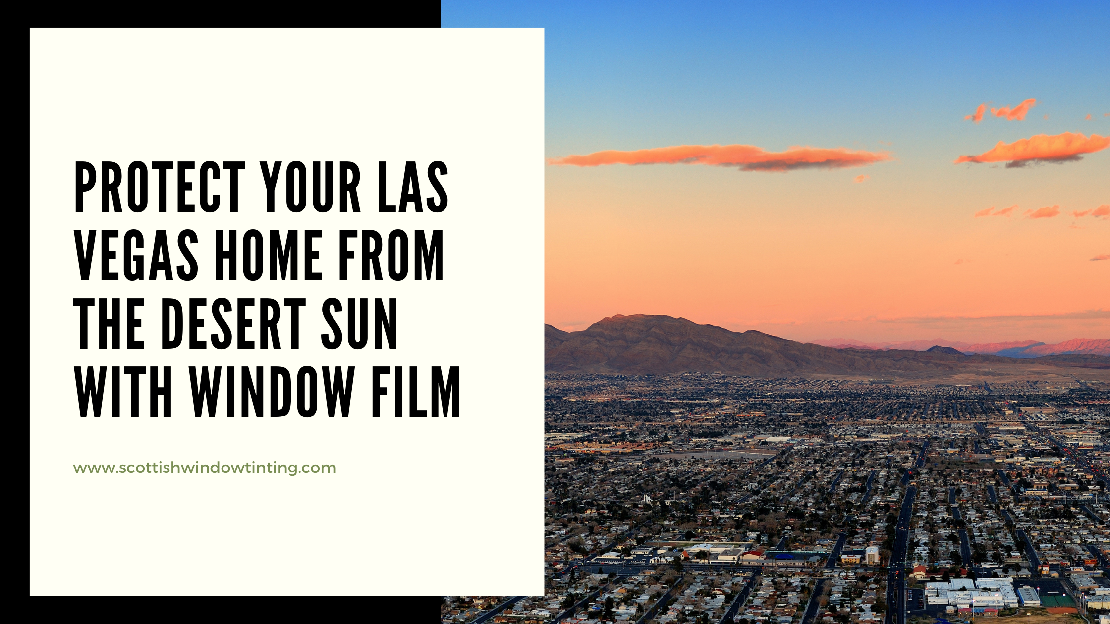 Protect Your Las Vegas Home from the Desert Sun with Window Film