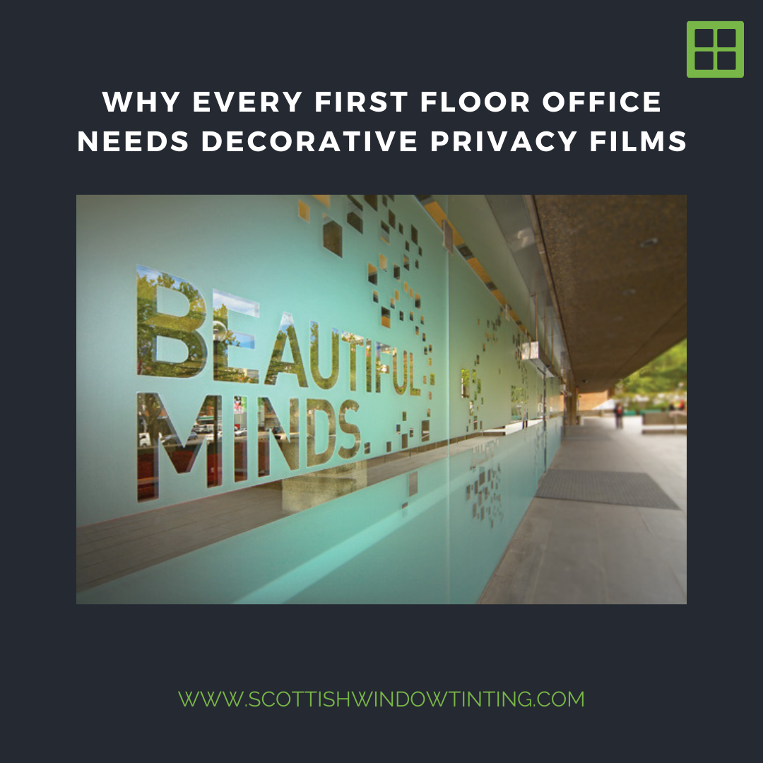 Why Every First Floor Office in Downtown Blank Needs Decorative Privacy Films