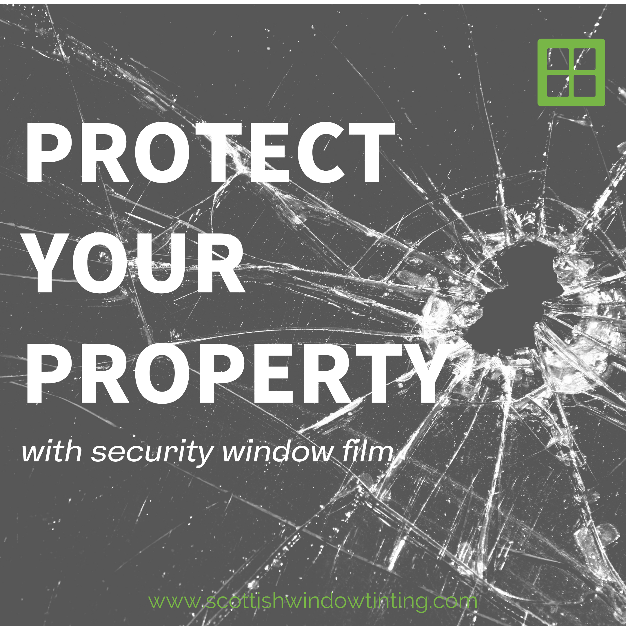Protect your Kansas City Property with Security Window Film